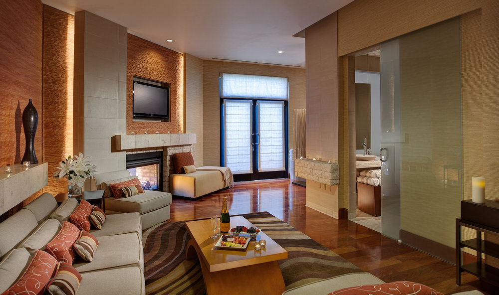 The Spa Suite at JW Marriott Desert Hot Springs Resort & Spa.