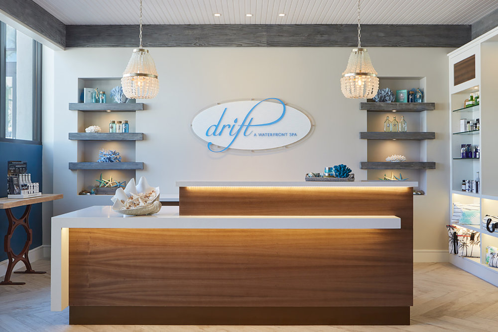 Drift Spa is the newest addition at the oceanfront resort in Huntington Beach, California.