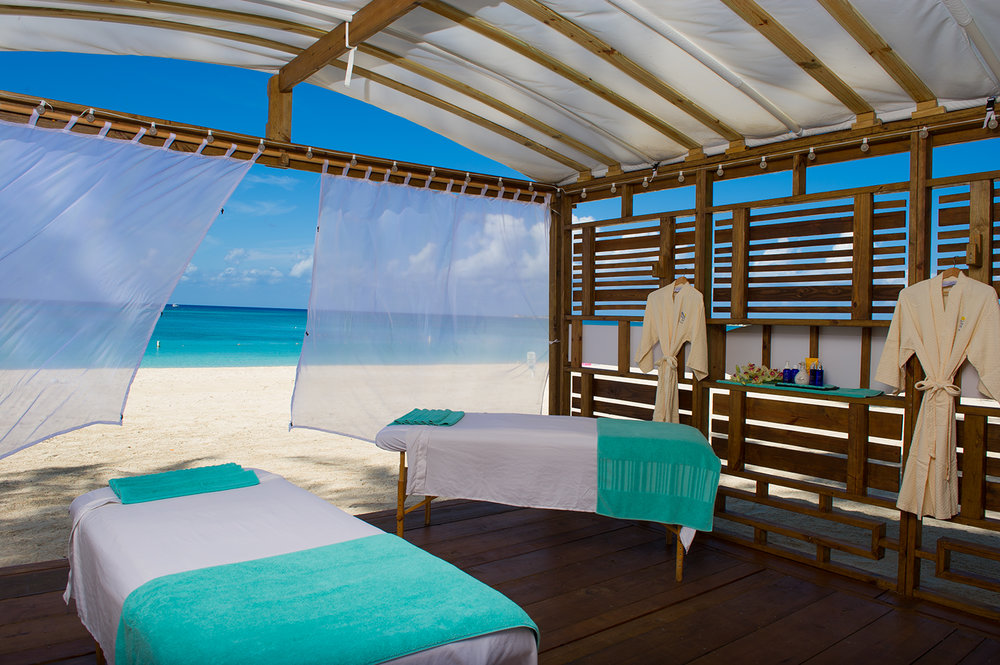 The Hibiscus Spa at Westin Grand Cayman Seven Mile Beach Resort & Spa.