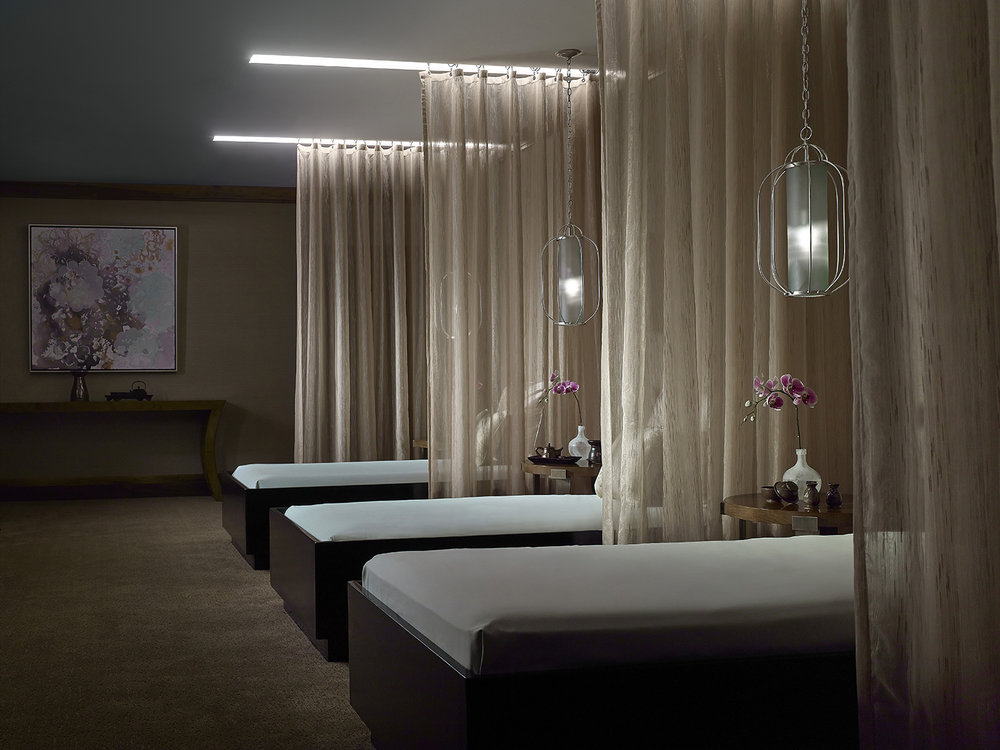 The Dream Room at Chuan Spa, The Langham Huntington Pasadena.