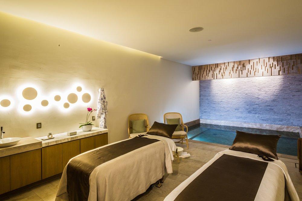 Treatment room at Grand Velas Los Cabos.