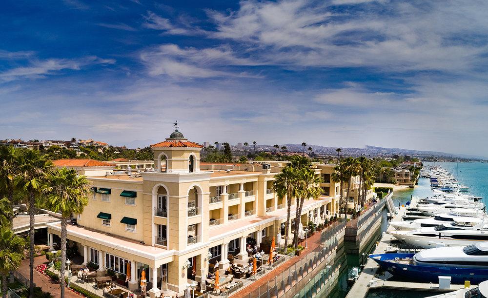 Balboa Bay Resort in Newport Beach, California.