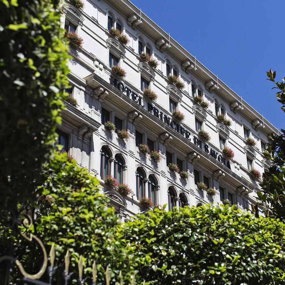 Hotel Principe di Savoia.