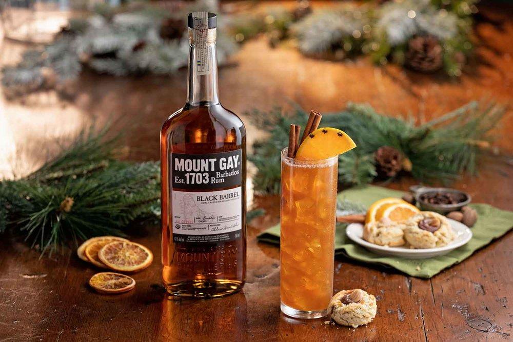 Orange Spice Amaretto Shortbread Cocktail
