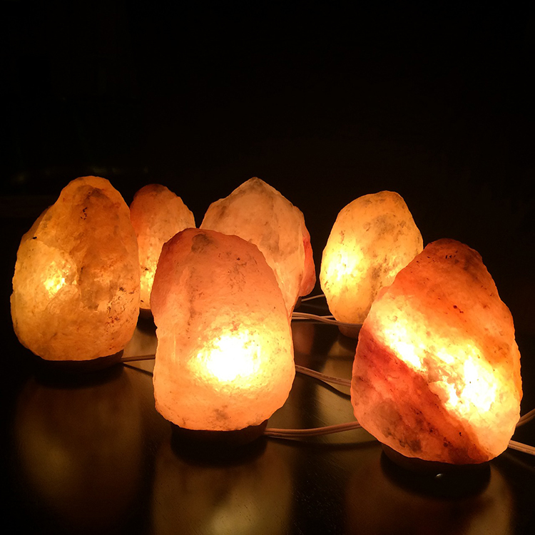 Himalayan salt lamps are frequently used as part of salt therapy.
