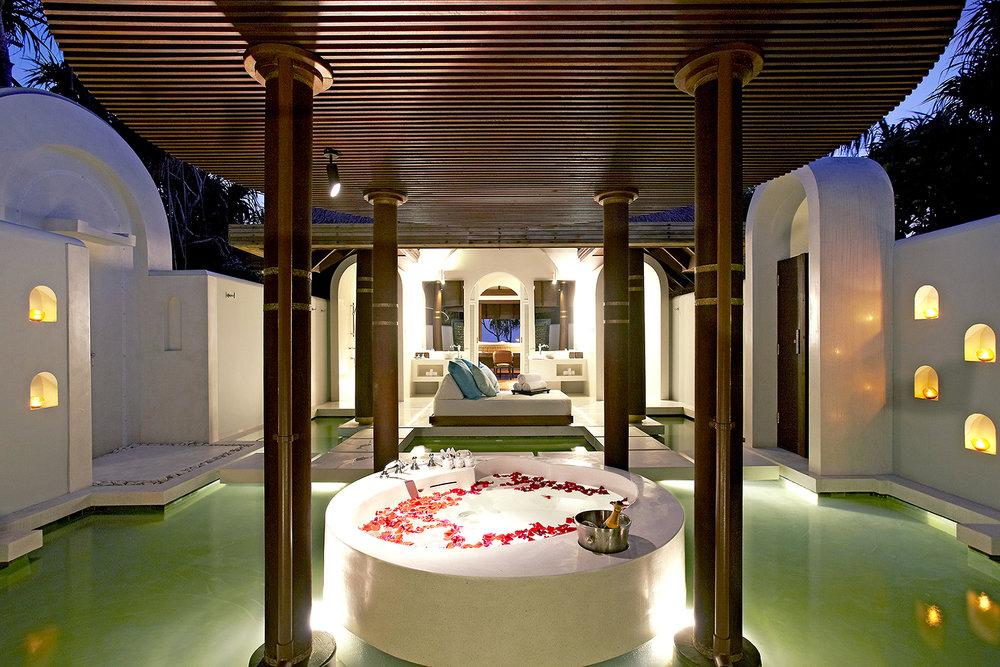 The Deluxe Spa Pool Villa.