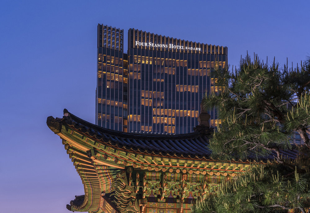Four Seasons Hotel Seoul offers stylish elegance in the heart of Seoul, South Korea.