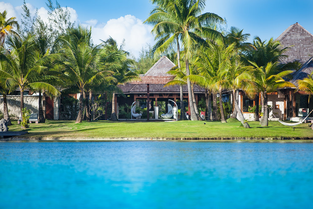 Miri Miri Spa by Clarins at The St. Regis  Bora Bora  Resort is located on its own private island in the middle of a private lagoon.