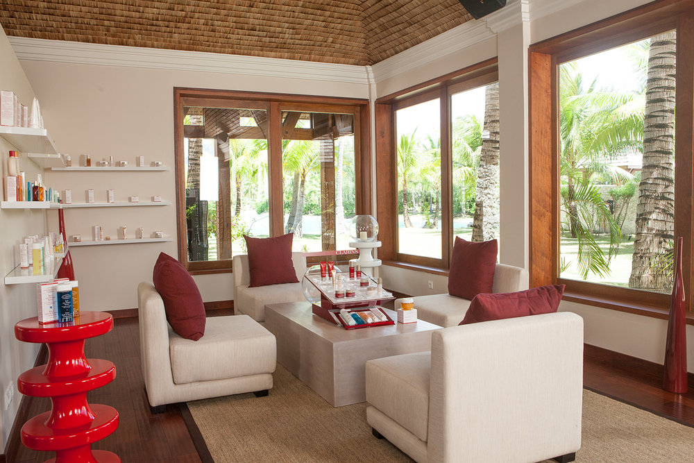 Facials, manicures and pedicures, and makeup facilities are also available at the Spa.
