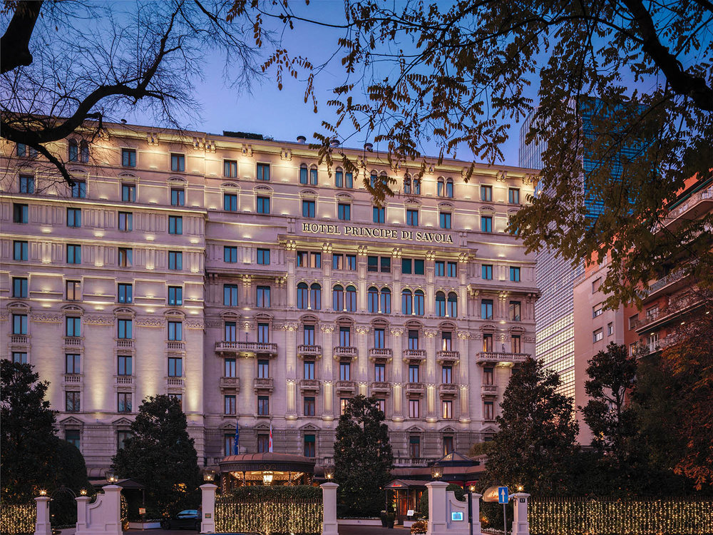 Hotel Principe di Savoia is a luxury hotel in Milan known for its impeccable service and authentic charm.