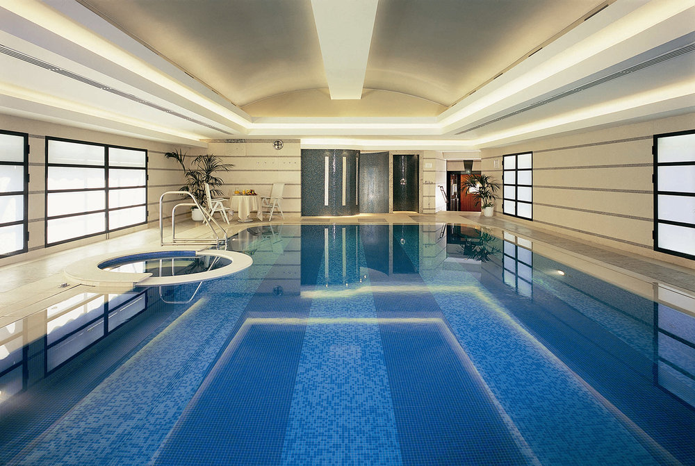 Club 10 has a heated indoor swimming pool for year-round enjoyment.