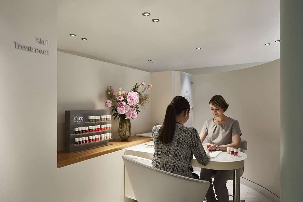 Guests of the Spa can also get manicures and pedicures.