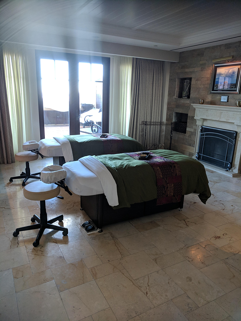 A look inside the Serenity Couples Treatment Room.