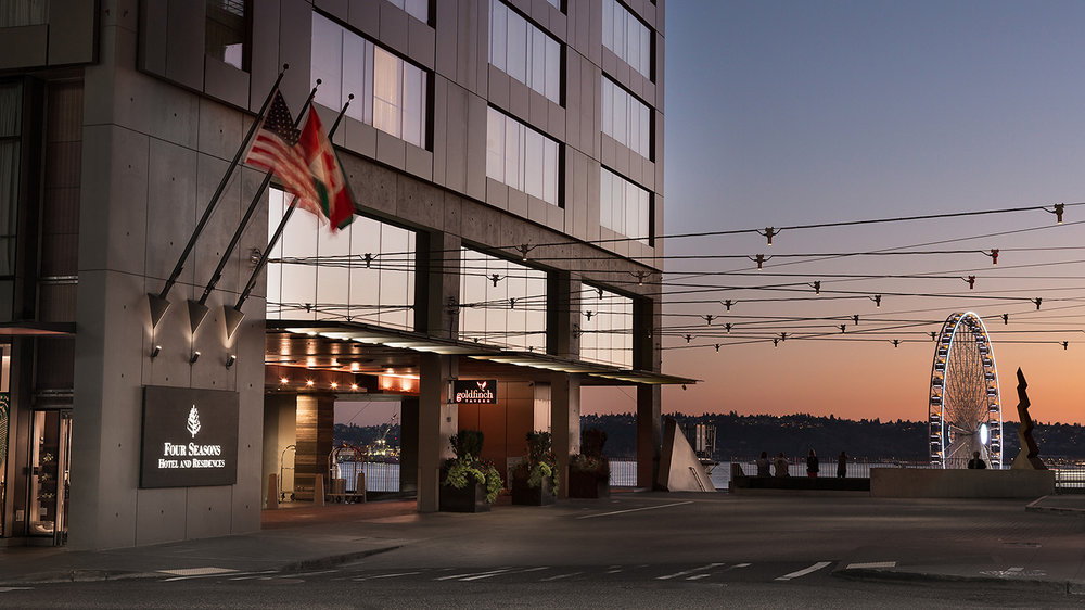 Four Seasons Hotel Seattle is located in the heart of downtown.