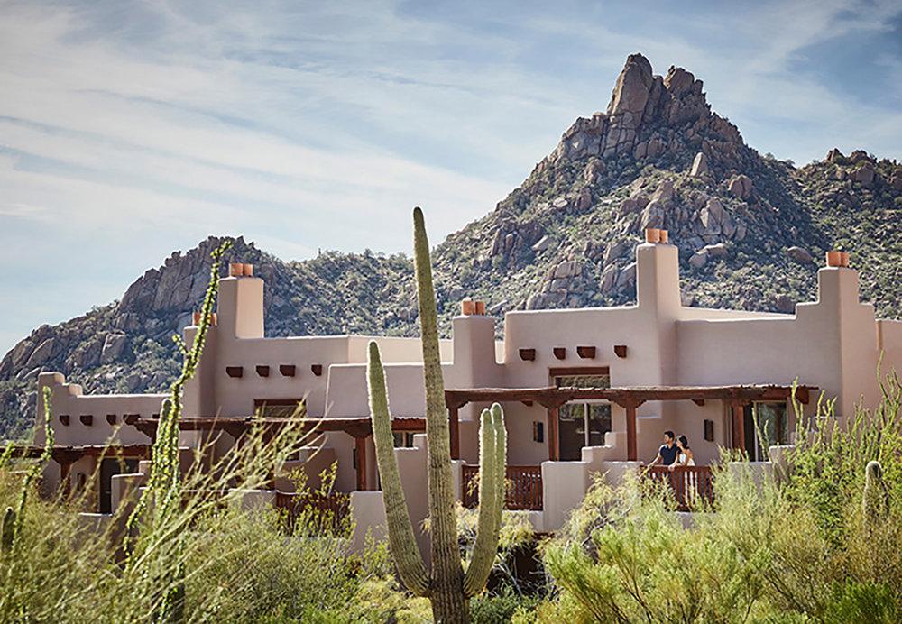 Desert romance meets outdoor adventure at Four Seasons Resort Scottsdale at Troon.