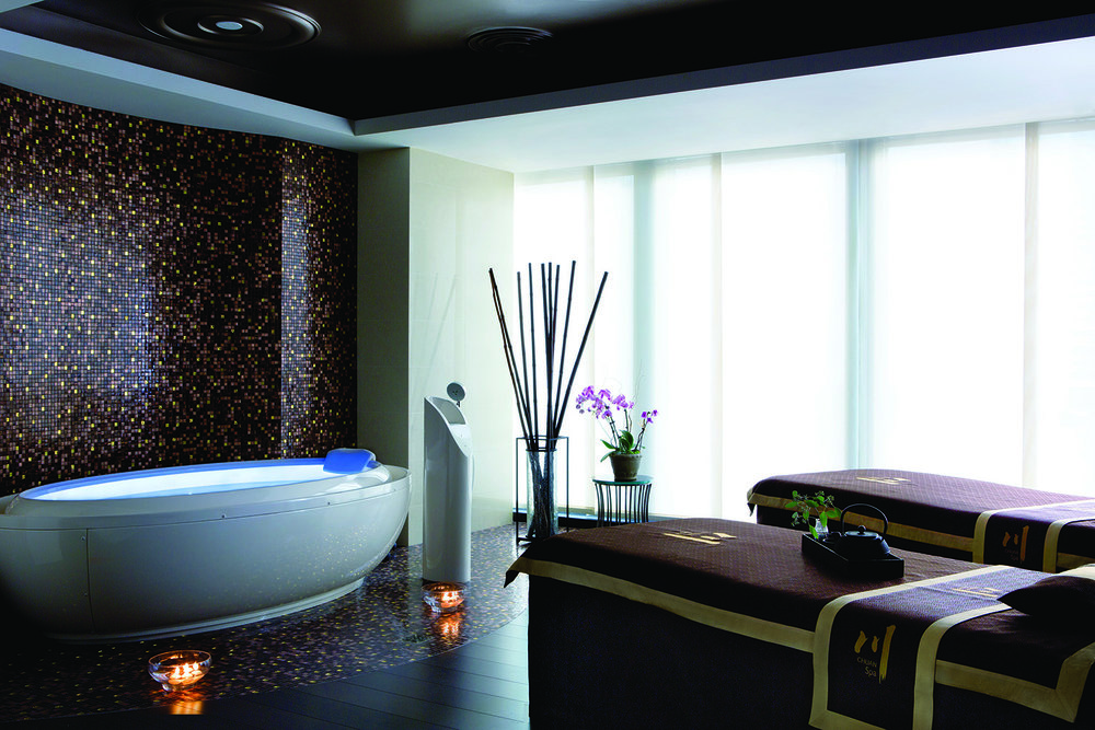 The Spa's ultra-luxurious Spirit Suite.