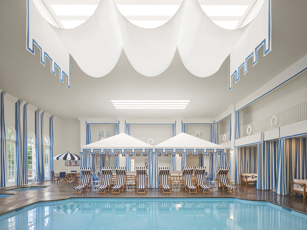 The Spa has an indoor saline swimming pool.