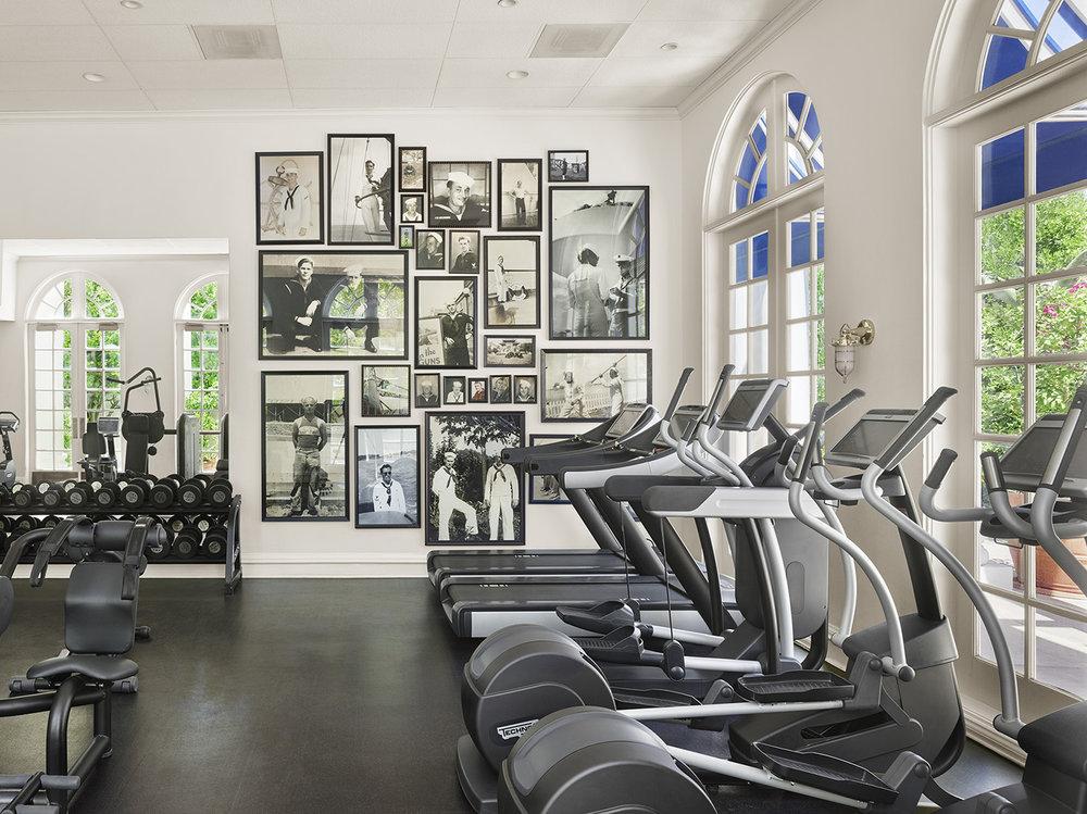 """The gym aka """"Boiler Room."""""""