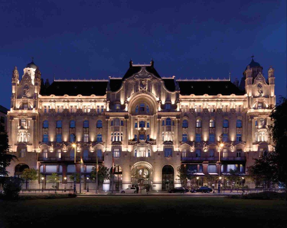 Four Seasons Hotel Gresham Palace Budapest in Hungary.