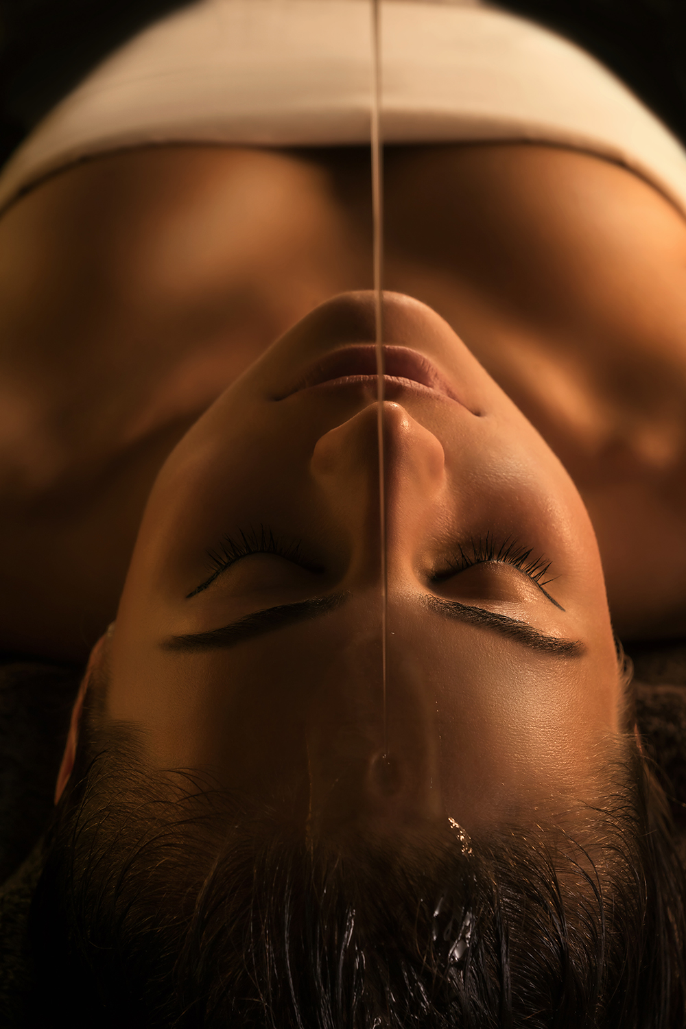Shirodhara is a deeply relaxing body treatment from the ancient Ayurvedic holistic healing practice.