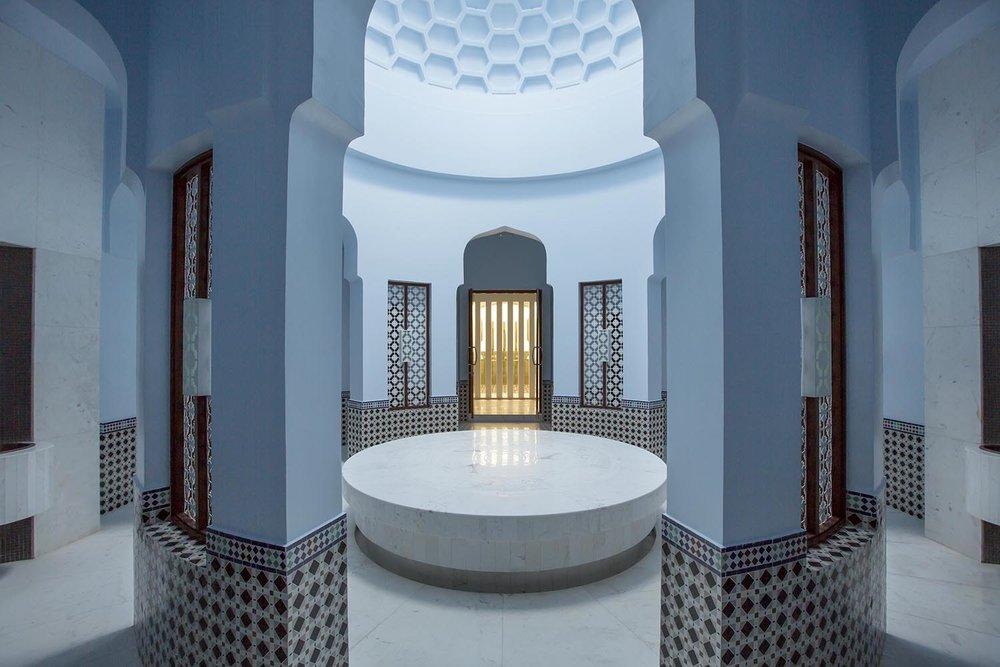 The Spa's Hammam at Al Baleed Resort Salalah by Anantara.