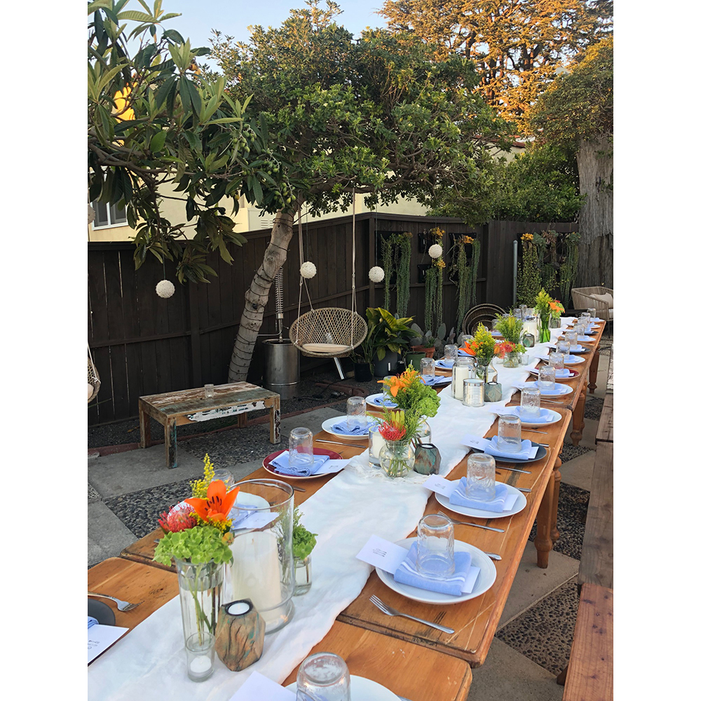 We enjoyed an intimate Plantventure Dinner with Goldthread and Common Table Creative.