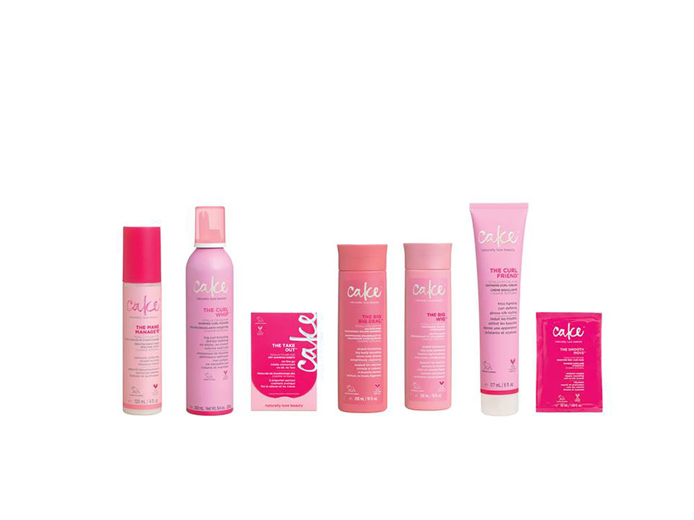 Cake Beauty recently launched a line of products for hair.