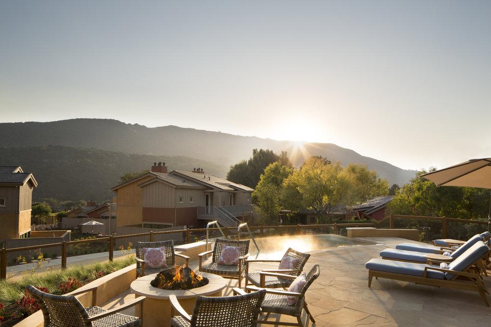 Bernardus Lodge & Spa in Carmel Valley.