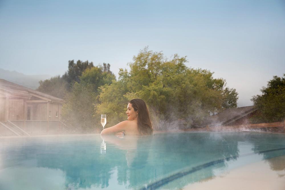 Infinity pool at The Spa at Bernardus.