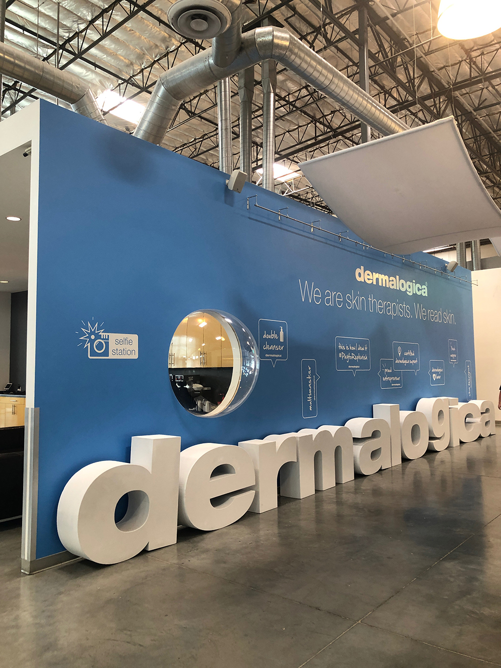 Dermalogica's corporate headquarters incorporate both research and development as well as training facilities.