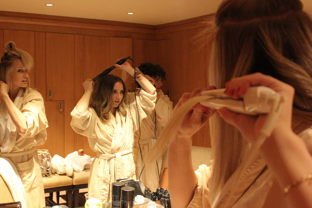 The Spa at The Grand offers everything needed to get ready after time spent in the spa.