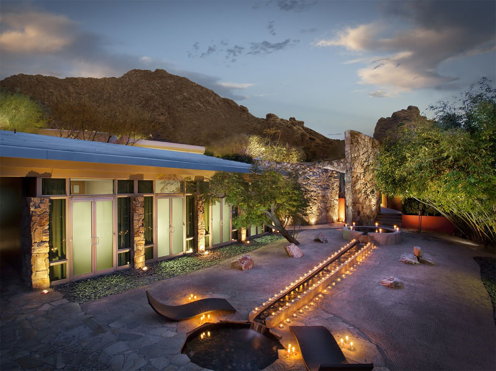 Sanctuary Spa at Sanctuary on Camelback Mountain Resort & Spa.