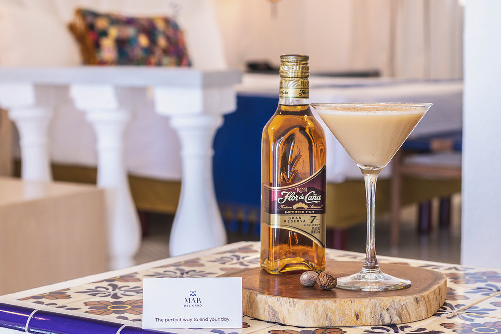 Mar del Cabo's Nightcap Menu is the newest turndown amenity offered.