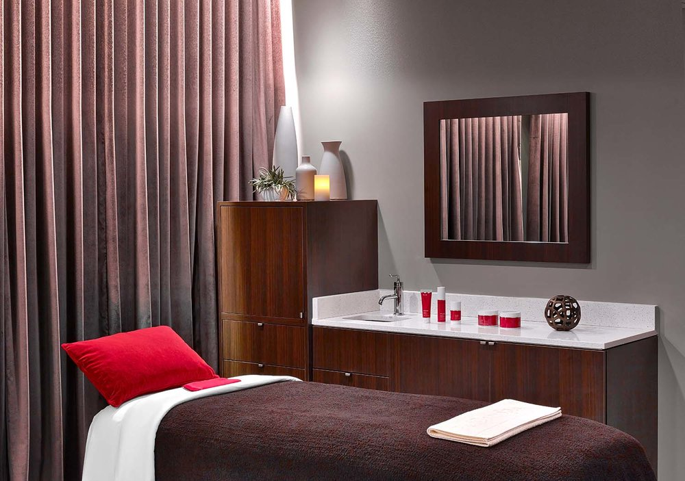 The Red Door Spa offers a wide assortment of spa treatments that nourish the body from head-to-toe.