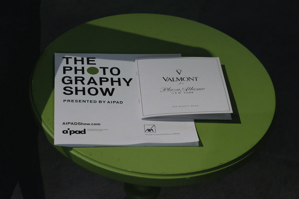 Valmont partnered with The New York Photography Show with a Pop-Up Valmont Spa in the VIP Lounge.