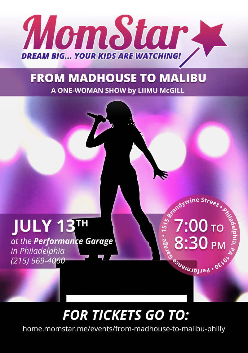 From Madhouse to Malibu has been workshopped in several locations nationwide.   Click here   to contact us for booking information.