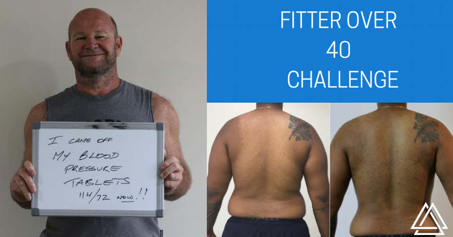 Fitter over 40  CHALLENGE TE ATATU