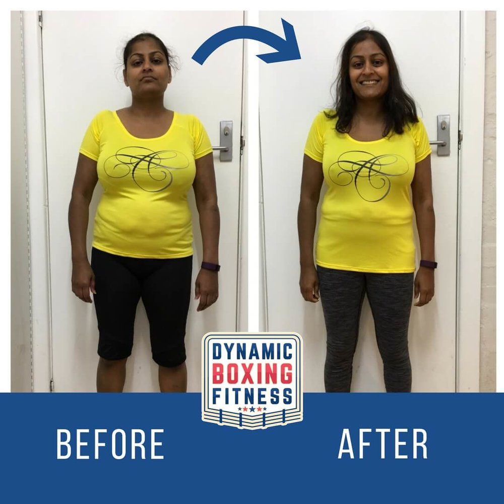"Niti   Niti lost an amazing 9kg in the 8 Wk Body Transform program. Her body fat levels dropped from 37% to 32%. She says: ""I have tried to lose weight unsuccessfully in the past. Love my results!"""