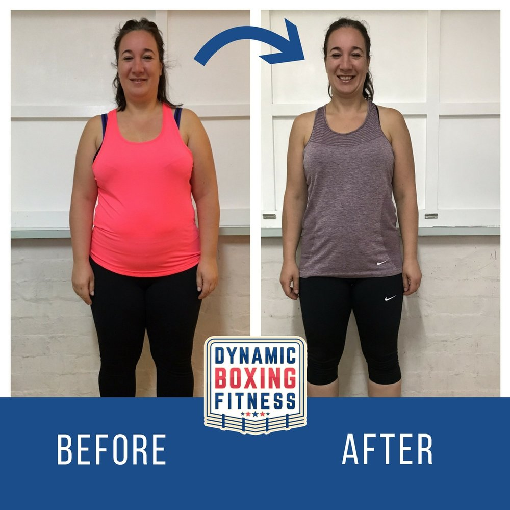 Fay   Fay smashed the 8 Wk Body Transform having lost 10kg! She continues her journey with us with ongoing training that burns tonnes of calories, weekly weigh-ins and face-to-face support.