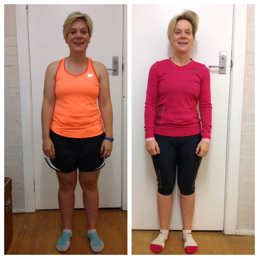 "In Just 4 weeks Kim lost 2.5kg and her body fat dropped from 30.5% to 26.6% whilst gaining 200gm of lean muscle tissue.  ""Even though I knew what I had to do, I was falling off the bandwagon a bit with holidays and just letting some bad habits creep in. The 28 Day Kickstart under the direct accountability of Laska was just what I needed to get back my healthy habits and routines."""