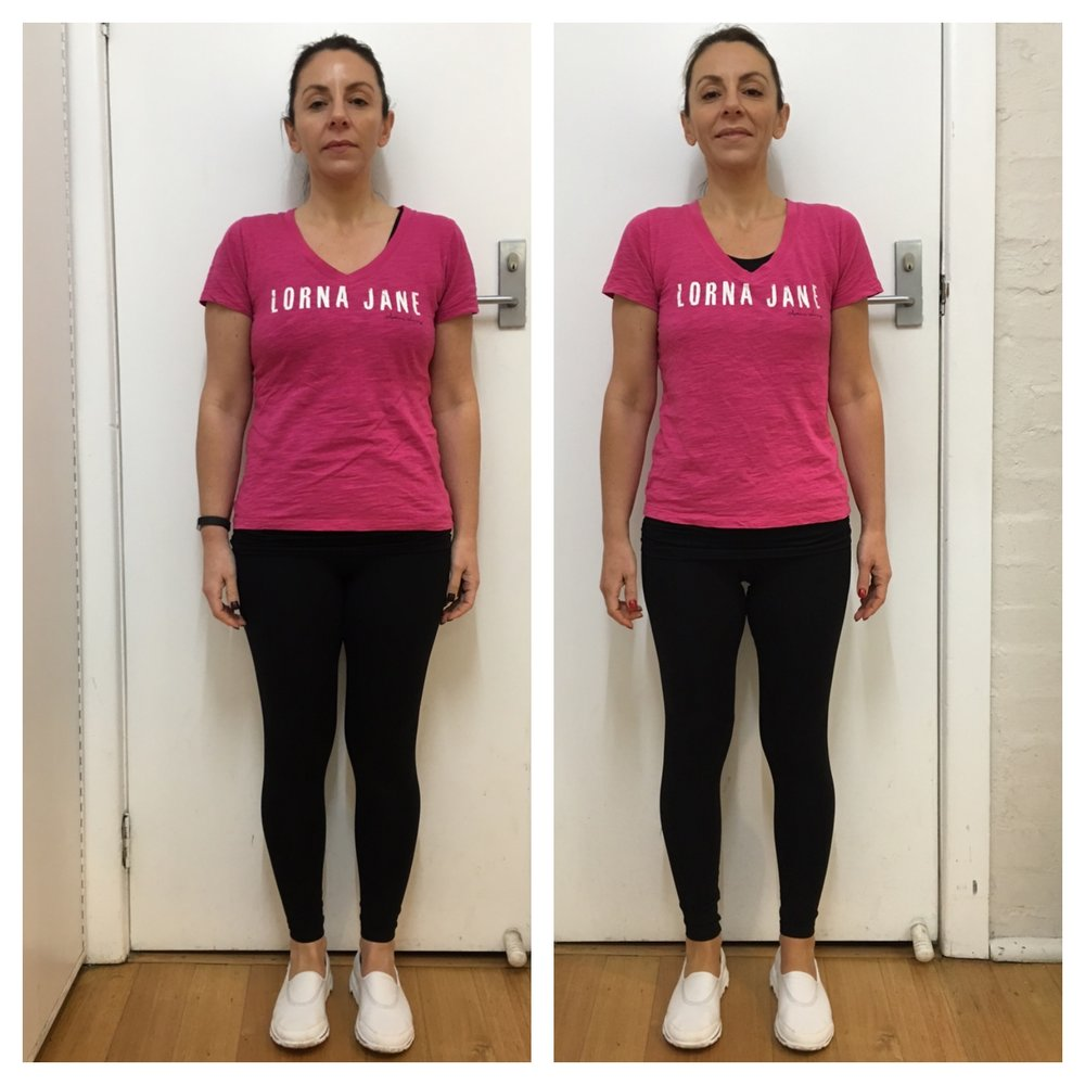 "In just 4 weeks Shauna lost 3.5kg and dropped her body fat levels from 26% to 22% whilst maintaining her lean muscle mass.  ""I can't believe my body composition could change that much in just 28 days! And I didn't have to change my whole life around to get these amazing changes. Real food, portion size and timing, and realistic exercise is something that I can keep doing because it's so simple to do."""