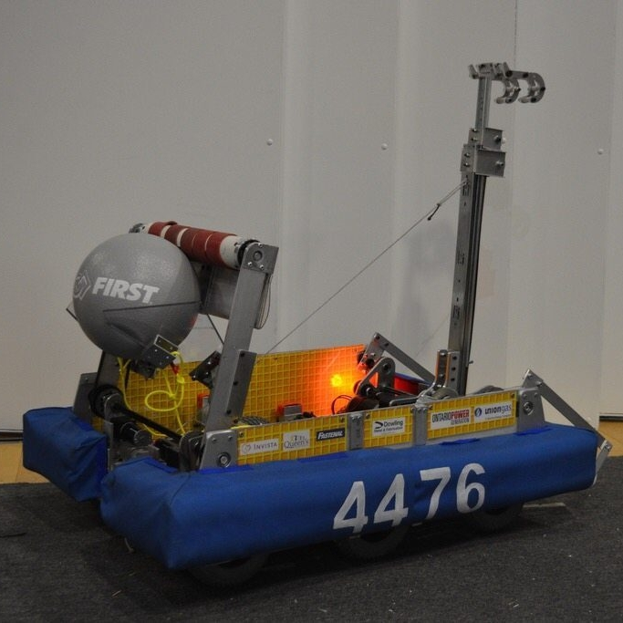FRC 2016 - Team 4476 - Stronghold (Version 1)