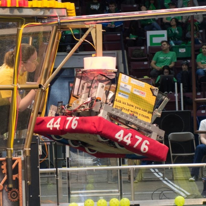 FRC 2017 - Team 4476 - Steamworks (Version 2)