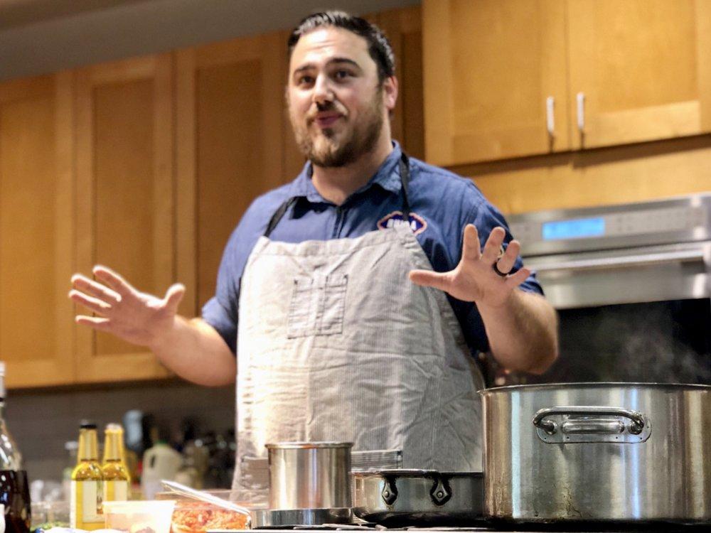 Bulla Gastrobar  Executive Chef, John Sumner