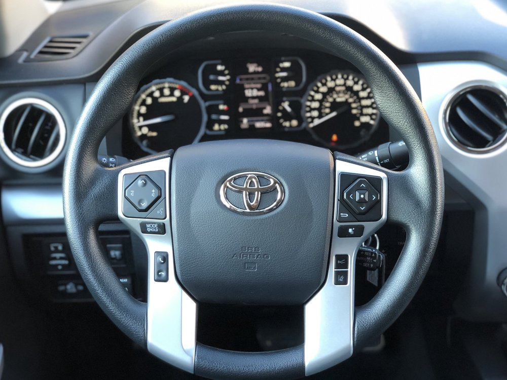The Interior of the 2019 Toyota Tundra TRD Pro CrewMax (Photo Credit: Neda Khalilian)