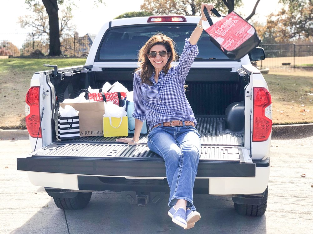 The 2019 Toyota Tundra TRD Pro CrewMax is perfect for a day of Black Friday shopping. Plenty of room for all the shopping bags! (Photo Credit: Kian Khalilian)