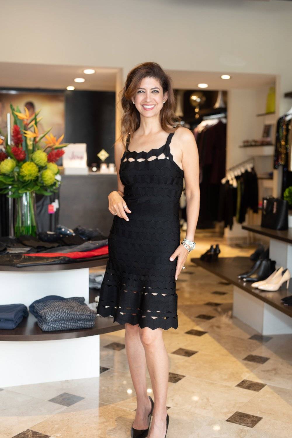 "Add a little fun with this fun dress. Gives new meaning to the ""little black dress"".    Photo Credit: Jeriann Severson"