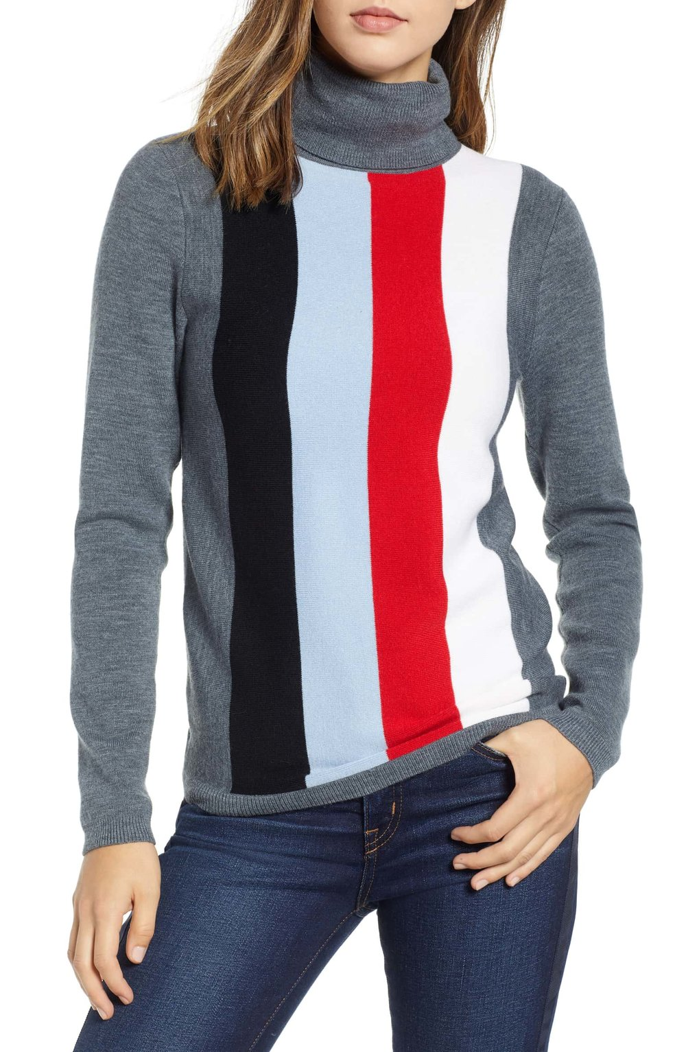1901 Fitted Turtleneck Sweater