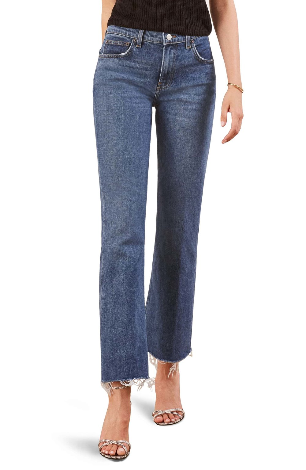 Reformation Crop Jeans