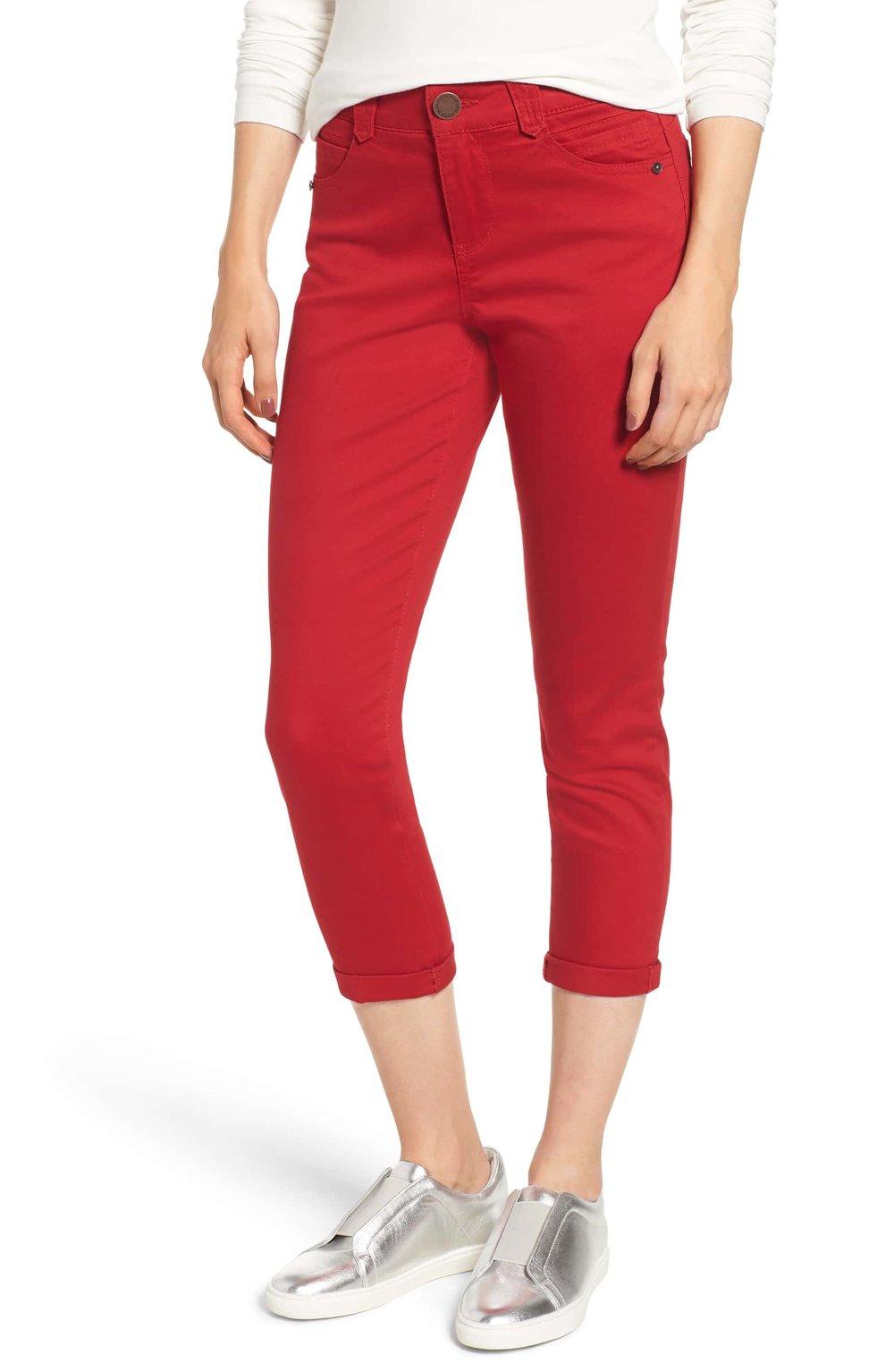 Wit & Wisdom Ab-Solution Crop Skinny Pants (Nordstrom Exclusive) (Regular & Petite)